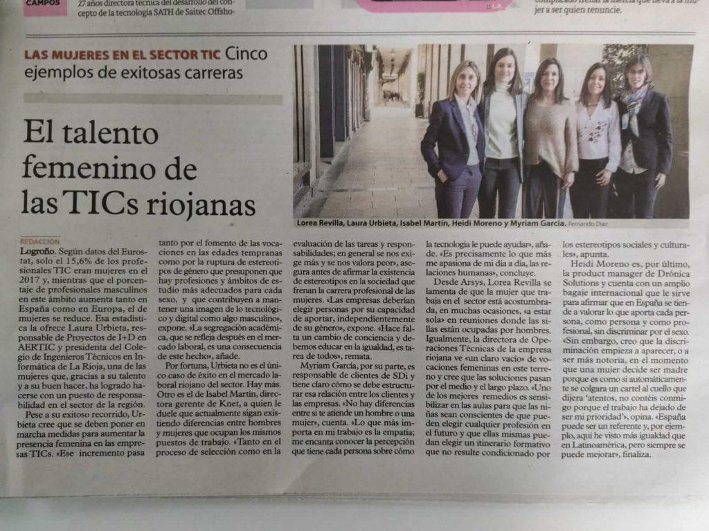 Mujeres en el sector TIC La Rioja